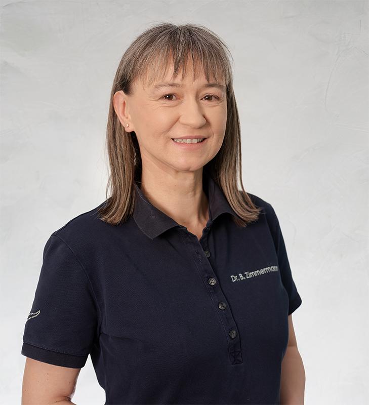 Dr med. dent. Barbara Zimmermann